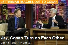 Jay, Conan Turn on Each Other
