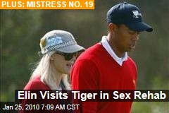 Elin Visits Tiger in Sex Rehab