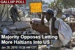 Majority Opposes Letting More Haitians Into US
