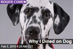 Why I Dined on Dog