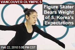 Figure Skater Bears Weight of S. Korea's Expectations