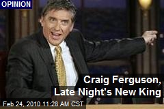 Craig Ferguson, Late Night's New King