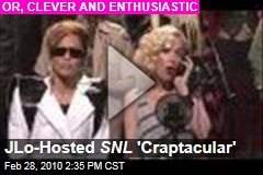 JLo-Hosted SNL 'Craptacular'