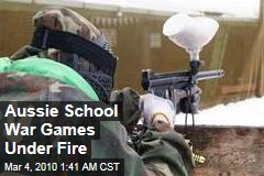 Aussie School War Games Under Fire