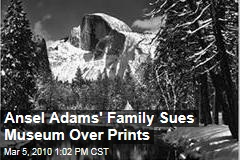 Ansel Adams' Family Sues Museum Over Prints