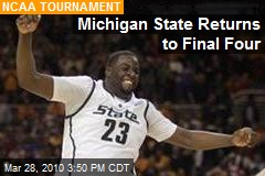 Michigan State Returns to Final Four