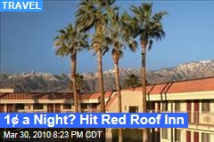 1¢ a Night? Hit Red Roof Inn
