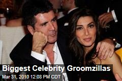 Biggest Celebrity Groomzillas