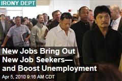 New Jobs Bring Out New Job Seekers— and Boost Unemployment