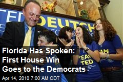 Florida Has Spoken: First House Win Goes to the Democrats