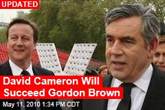 David Cameron Will Succeed Gordon Brown