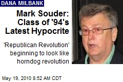 Mark Souder: Class of '94's Latest Hypocrite