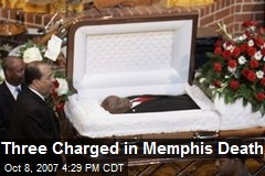 Three Charged in Memphis Death