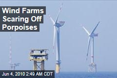 Wind Farms Scaring Off Porpoises