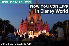 Now You Can Live in Disney World