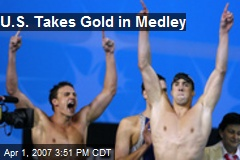 U.S. Takes Gold in Medley