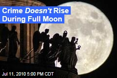 Crime Doesn't Rise During Full Moon