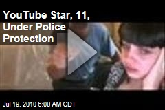 YouTube Star, 11, Under Police Protection