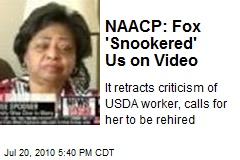NAACP Reverses, Asks US to Rehire Woman