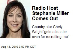 Radio Host Stephanie Miller Comes Out