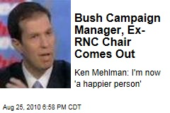 Bush Campaign Chief, Ex-RNC Chair Comes Out