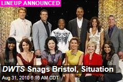 DWTS Snags Bristol, Situation