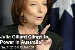 Independents Back Gillard as Aus PM